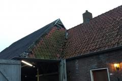 oude situatie nieuw dak Wijnjewoude
